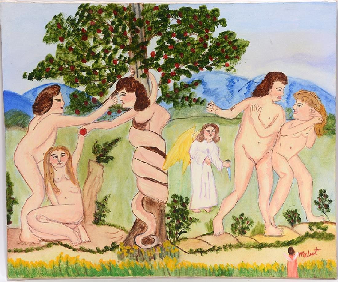 Myrtice West. Story Of Adam & Eve.