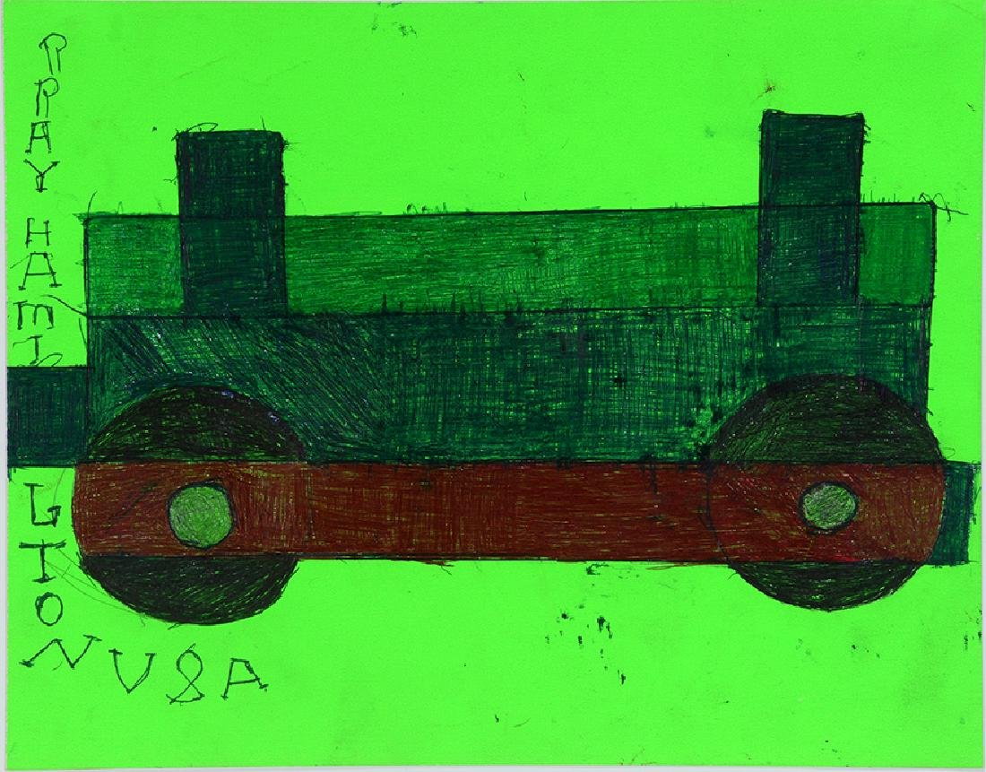 Ray Hamilton. Railroad Car. - 2