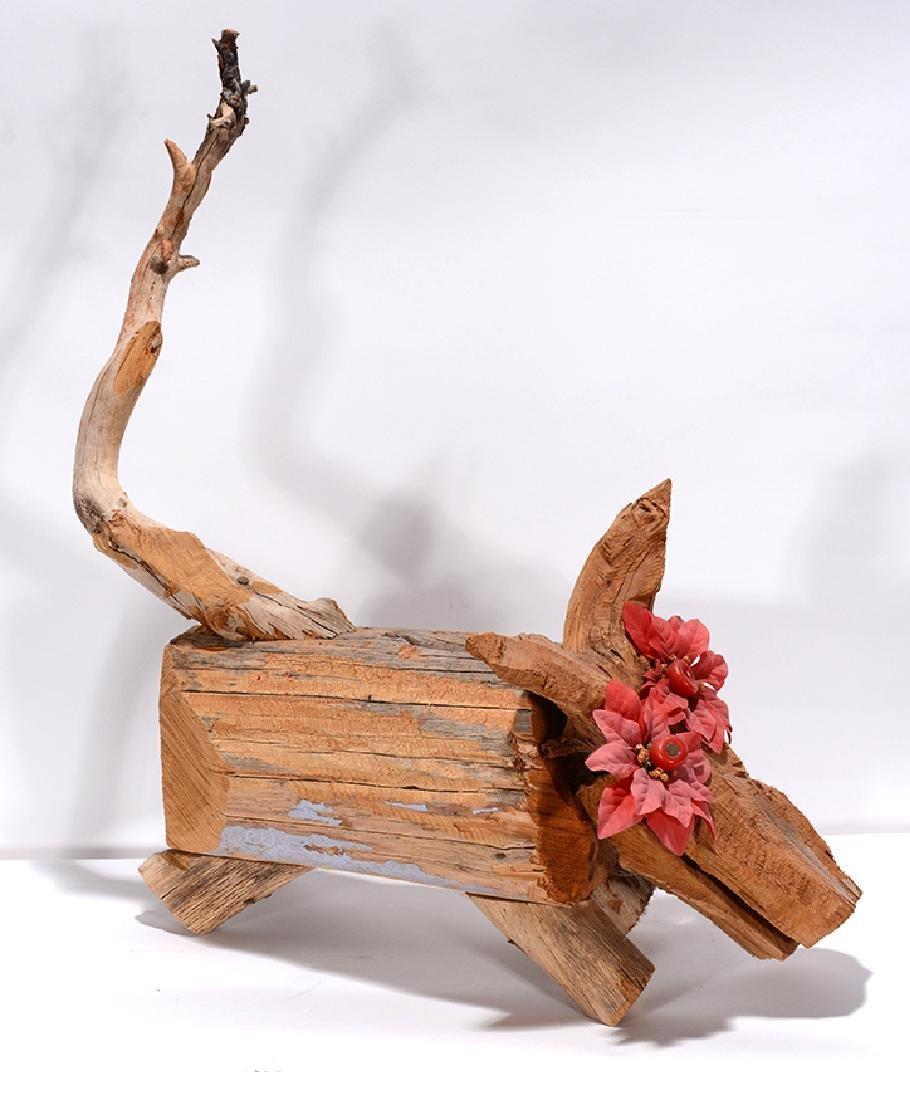 Clyde Jones. Wooden Critter.