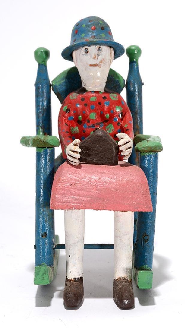 Carlton Garrett. Lady In Rocking Chair.