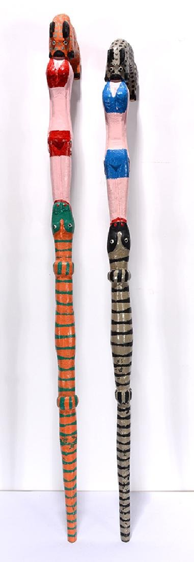 Denzil Goodpaster. Animals & Beauties Canes.