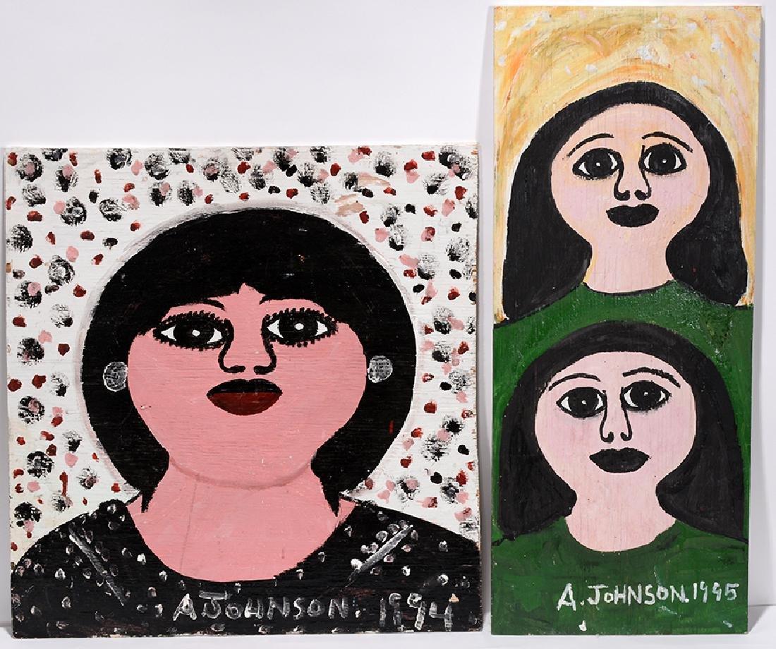 Anderson Johnson. Female Portraits.