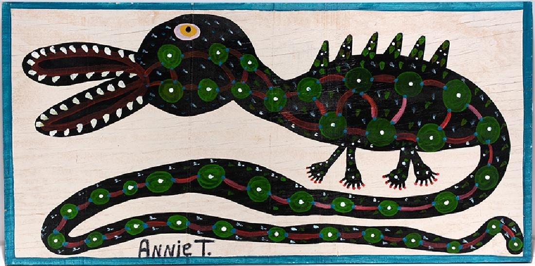 Annie Tolliver. Alligator.