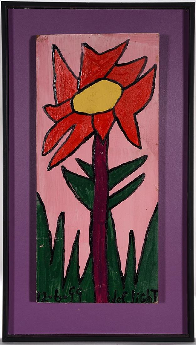 Joe Light. Small Red Flower.