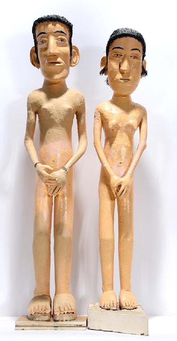 John Fedele Pelligrino. Adam & Eve.