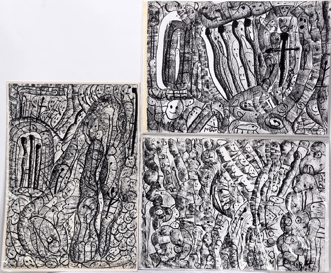 John McQuirk. 3 Black & White Works.