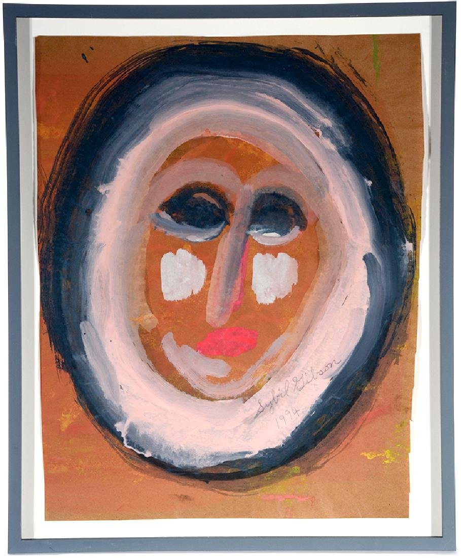 Sybil Gibson. Pink Oval Face.