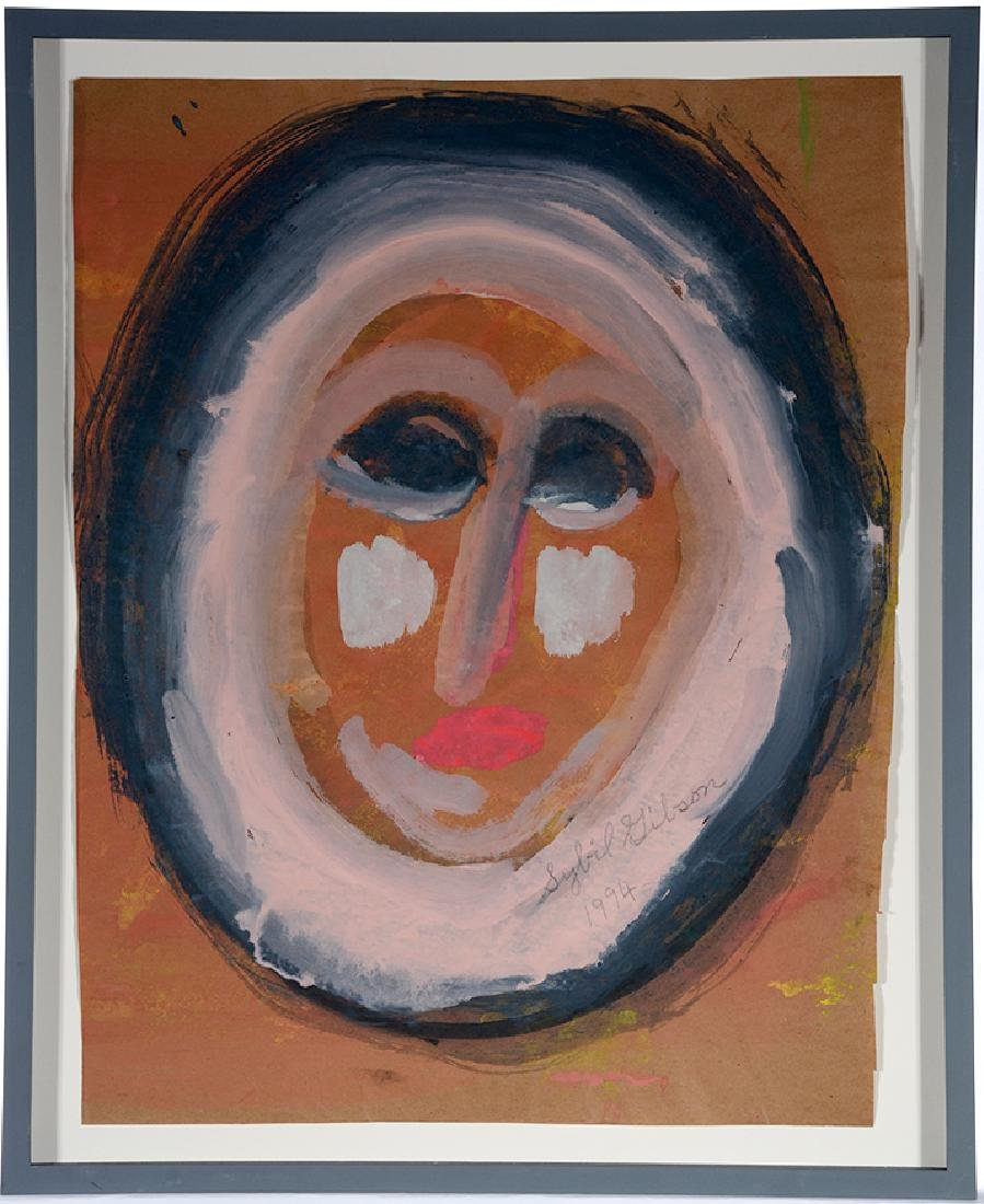 Sybil Gibson. Pink Oval Face. - 2
