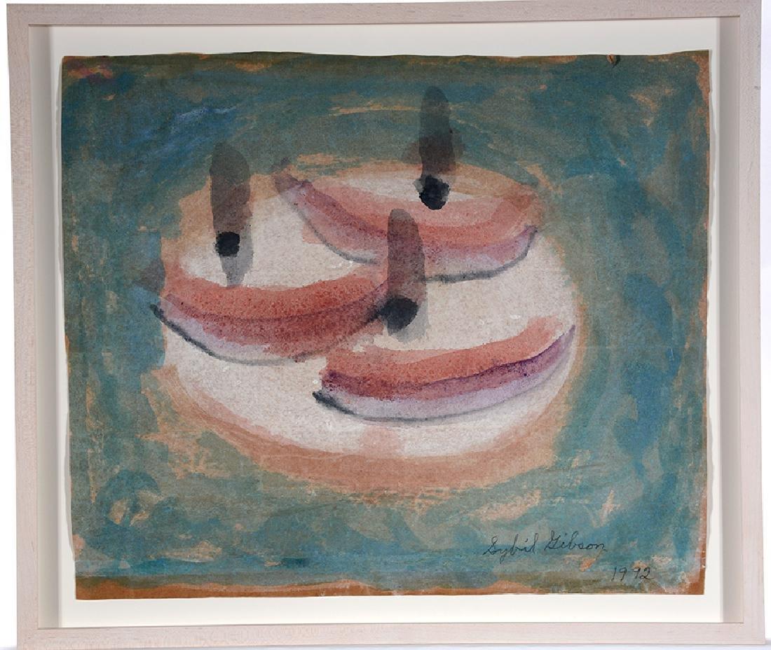 Sybil Gibson. Three Boats.