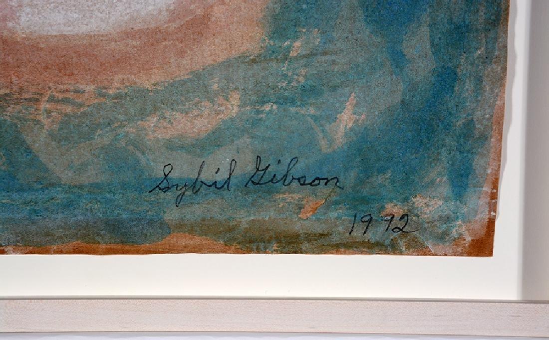 Sybil Gibson. Three Boats. - 2