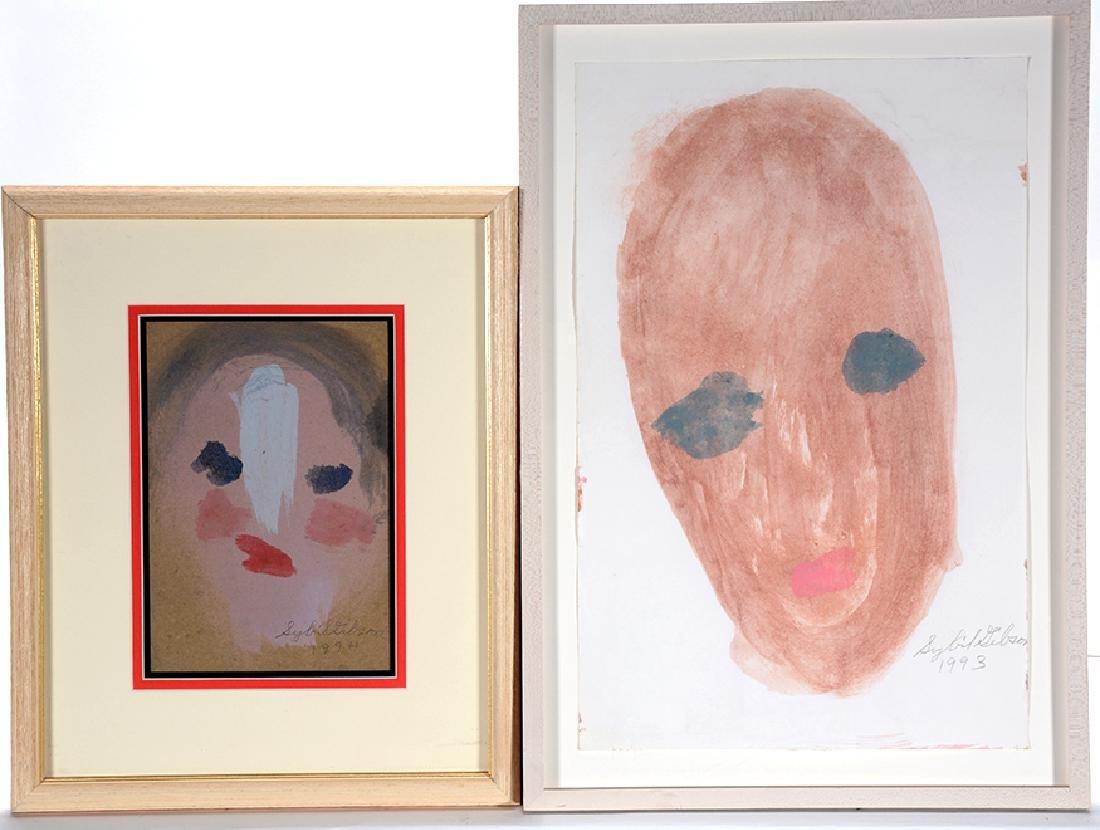 Sybil Gibson. Pair of Portraits.