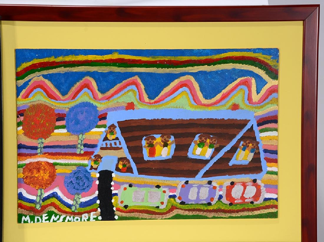 Merrill Densmore. 5 Boat & House Paintings. - 3