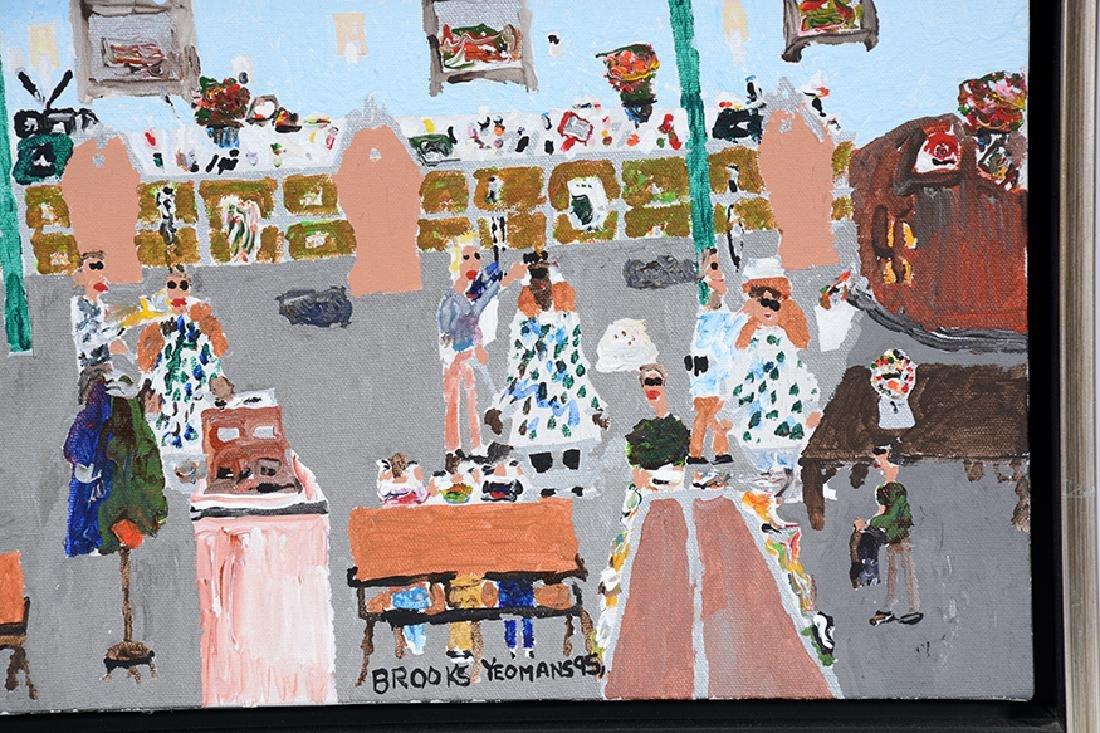 Brooks Yeoman. Three Works. - 2