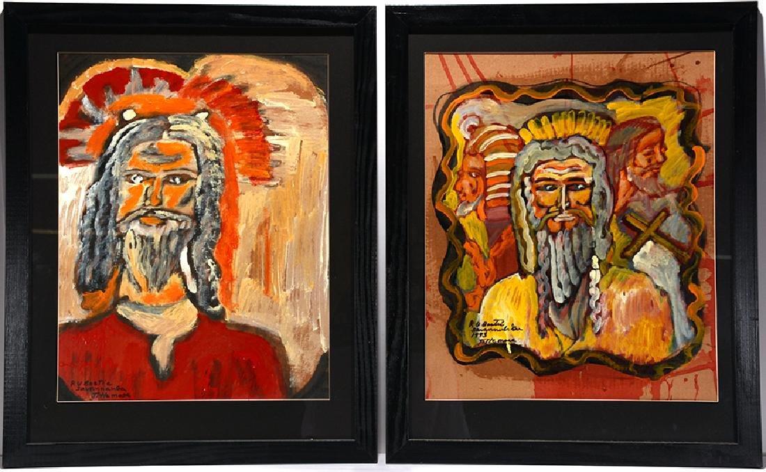 Rudy Bostic. Religious Portrait.