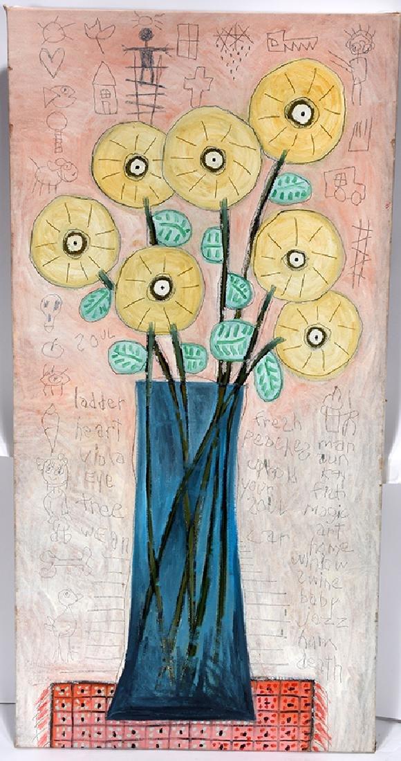 Marc Bercier. Still Life Flowers.