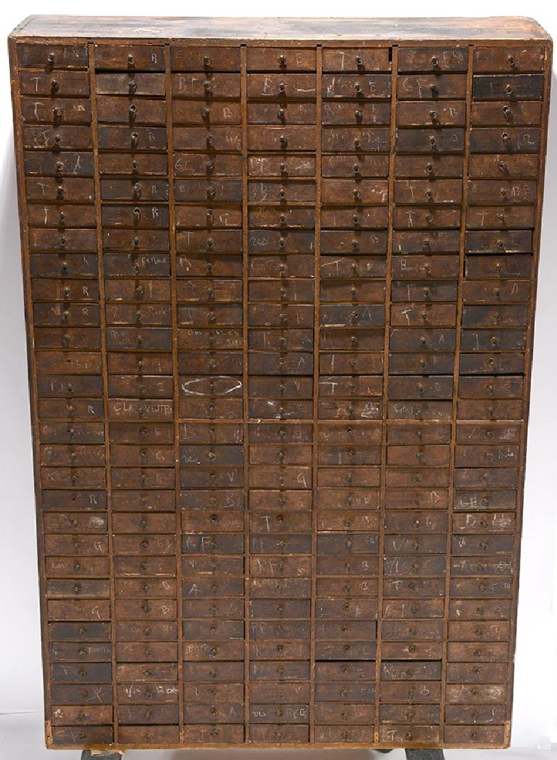 30 Drawer Hardware Store Cabinet.