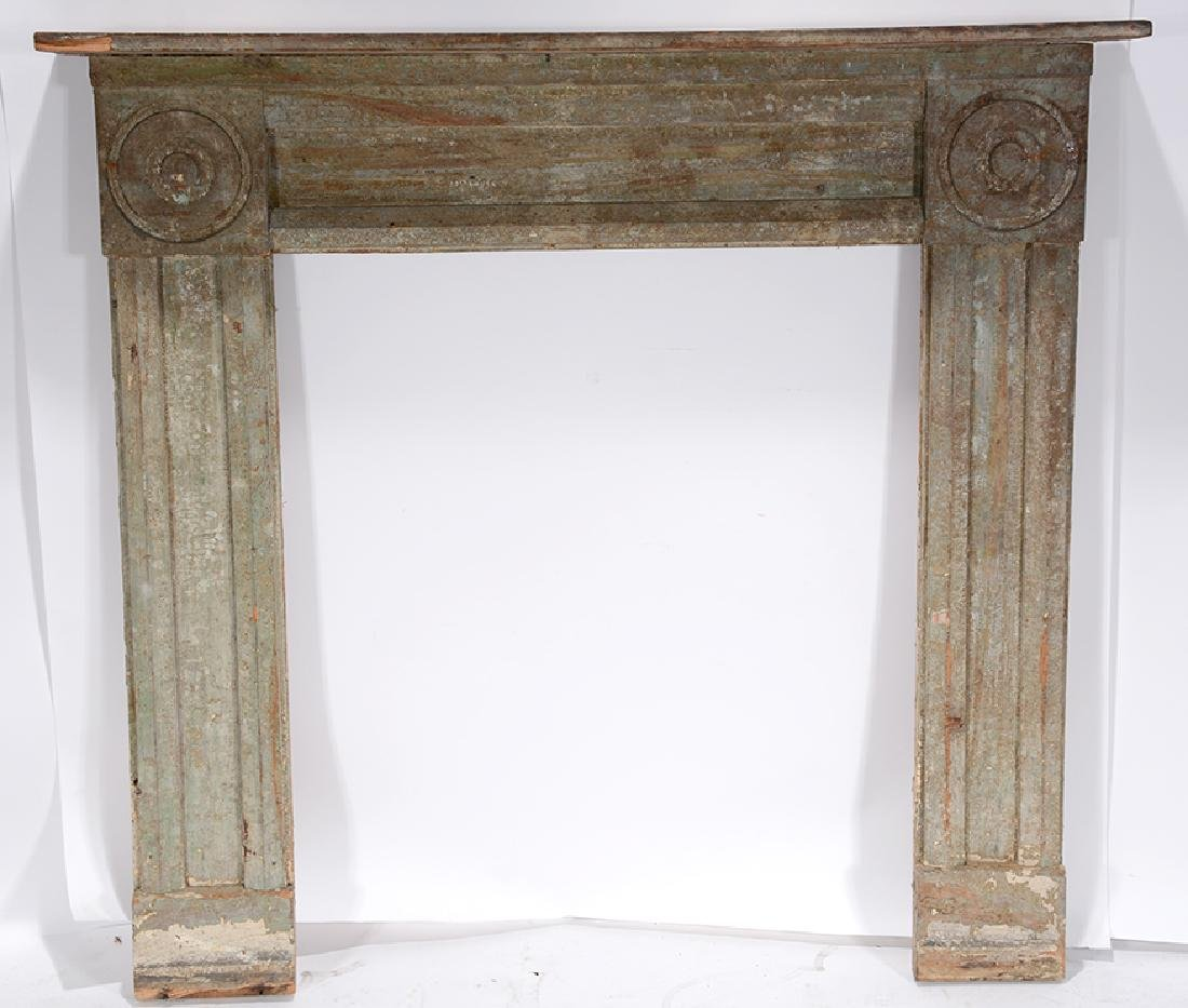 Anonymous Fire Place Mantel.