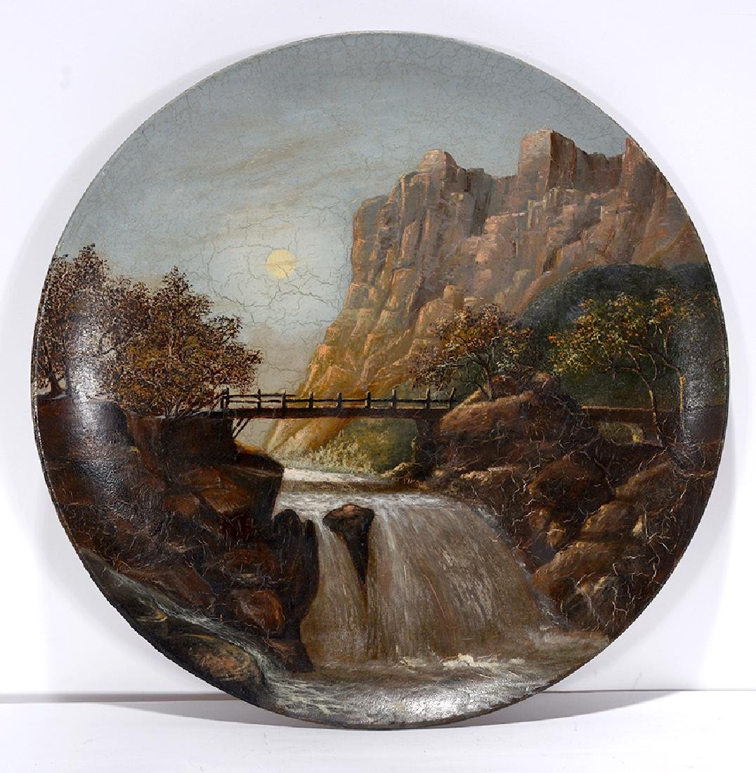 Waterfalls Painting.