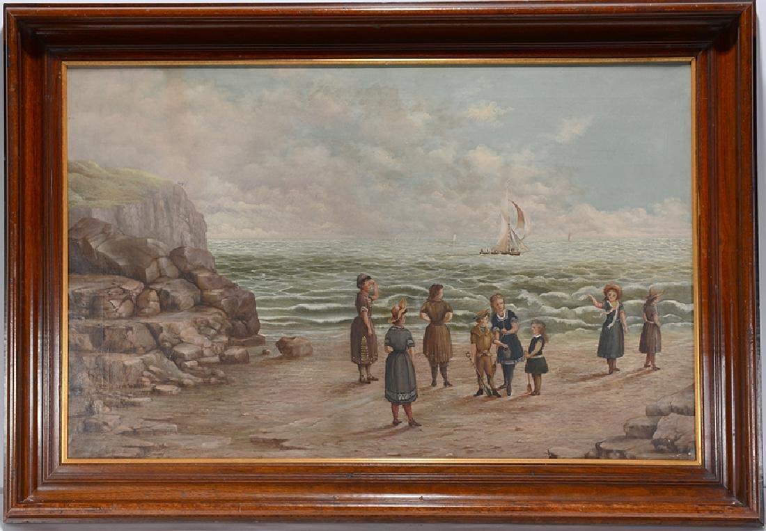 Beach Scene Painting.