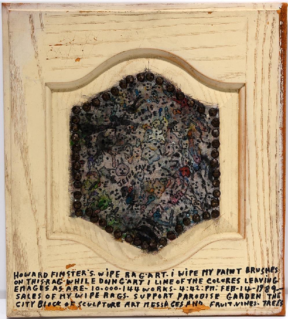 Howard Finster. Rag Art.