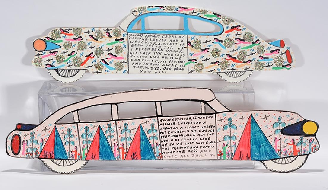 Howard Finster. Cadillac & Limo.