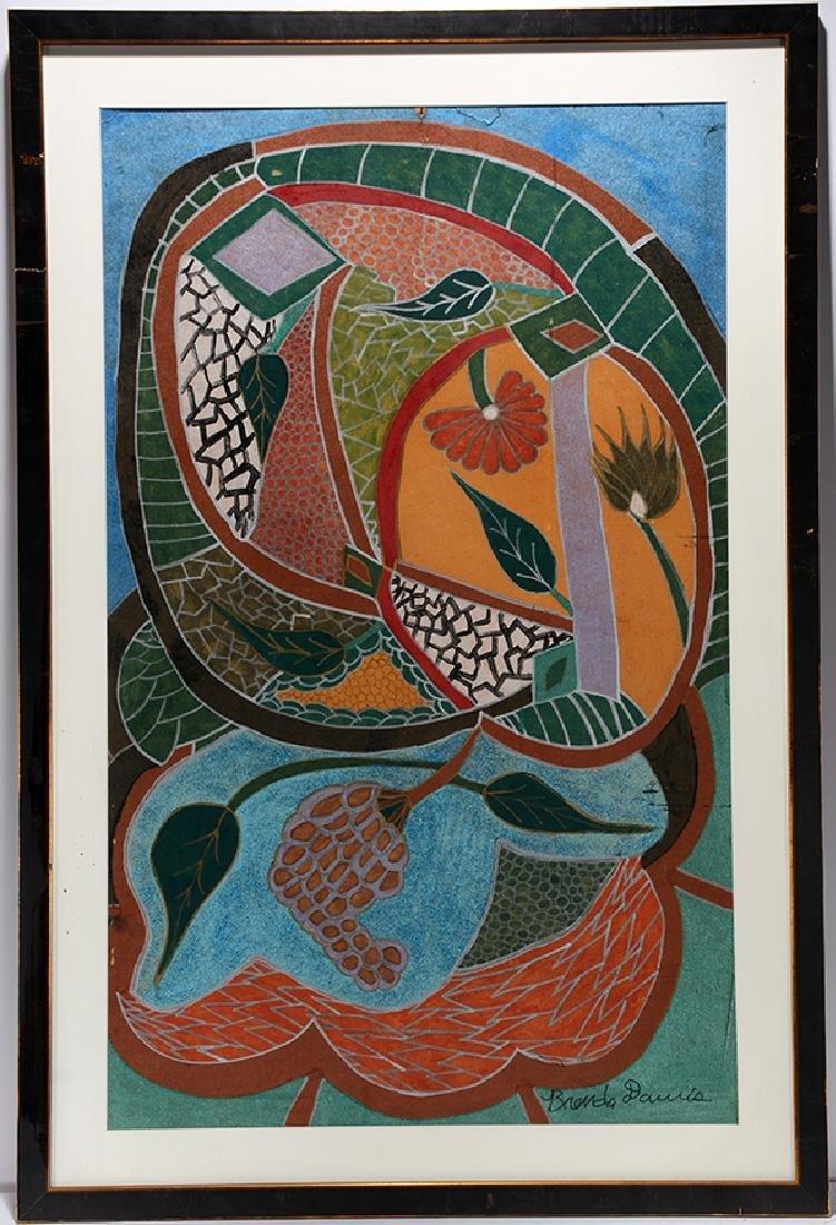 Brenda Davis. Abstract.