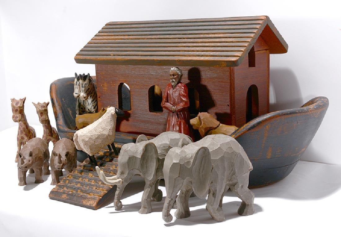 Wolf Creek. Noah's Ark with Figures.
