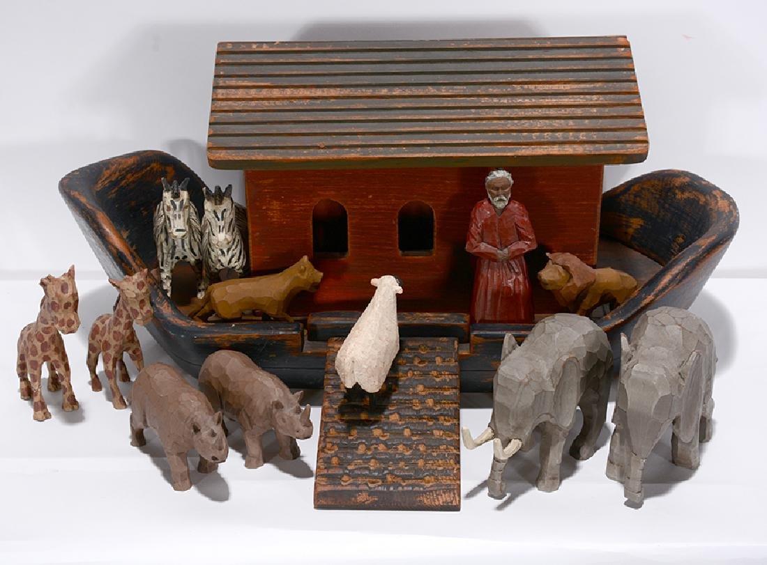 Wolf Creek. Noah's Ark with Figures. - 2