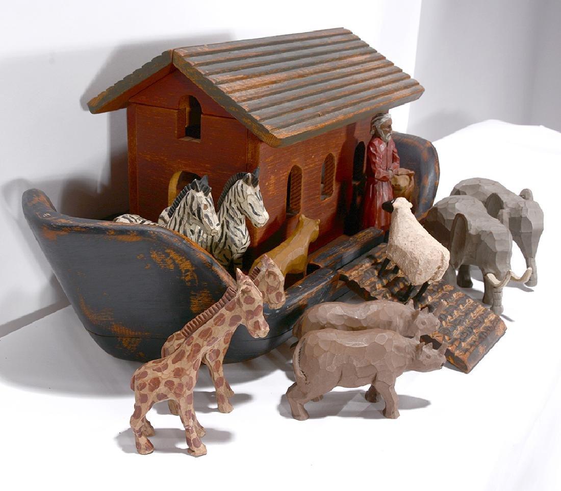 Wolf Creek. Noah's Ark with Figures. - 3