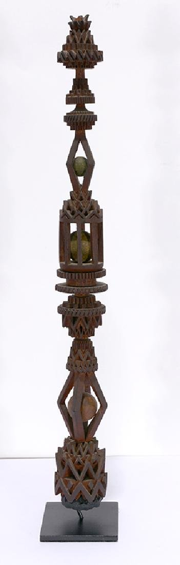 Amazing Ball-N-Cage Whimsey Tower.