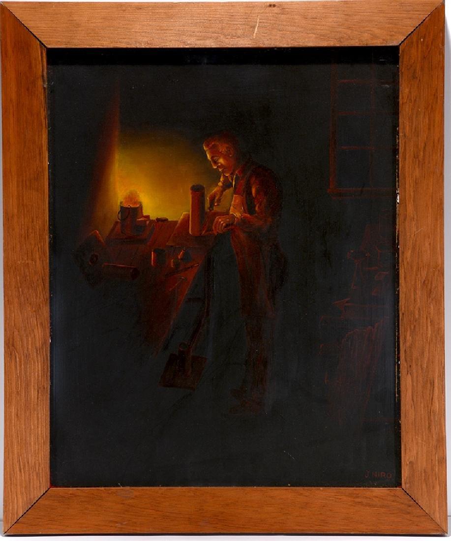 John Niro. Soldering Metal By Light.