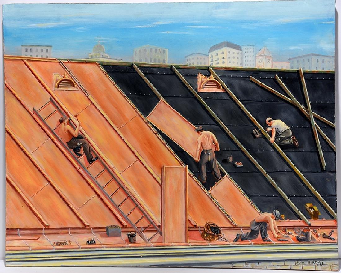 John Niro. Copper Roofing.