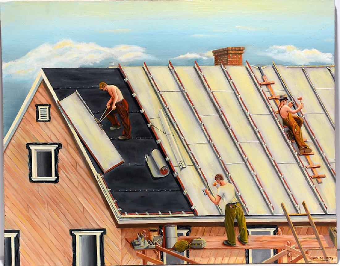 John Niro. Metal Roofing.