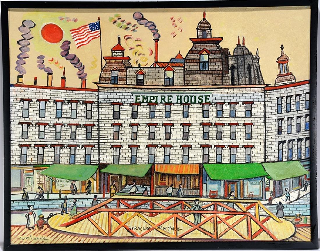 LaMirande. Empire House Syracuse NY.