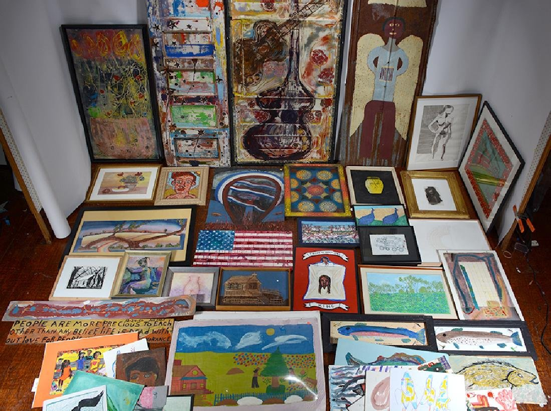Variety Of Artists. Box Lot.