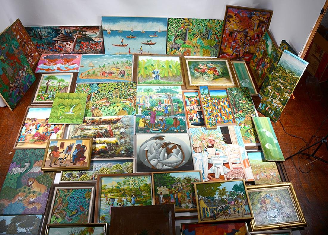 34 Haitian Larger Works.