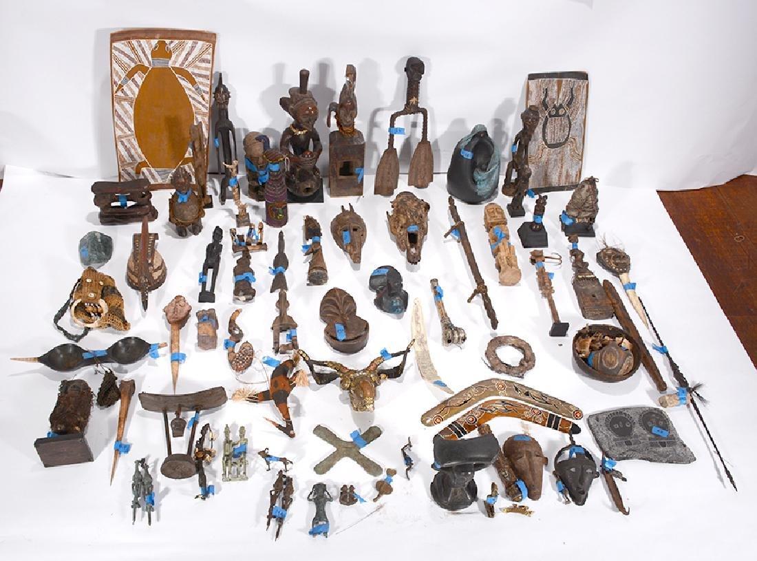 African Tribal Carvings.