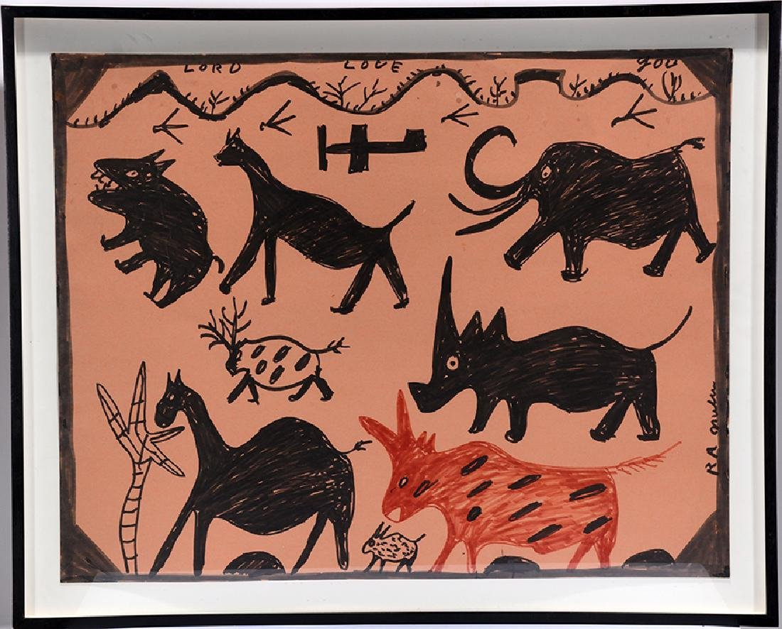 R.A. Miller. Prehistoric Animals.