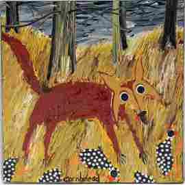 Cornbread Anderson. Fox Chasing Guineas.