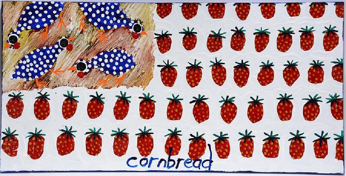 Cornbread Anderson. Strawberry & Guinea Flag.