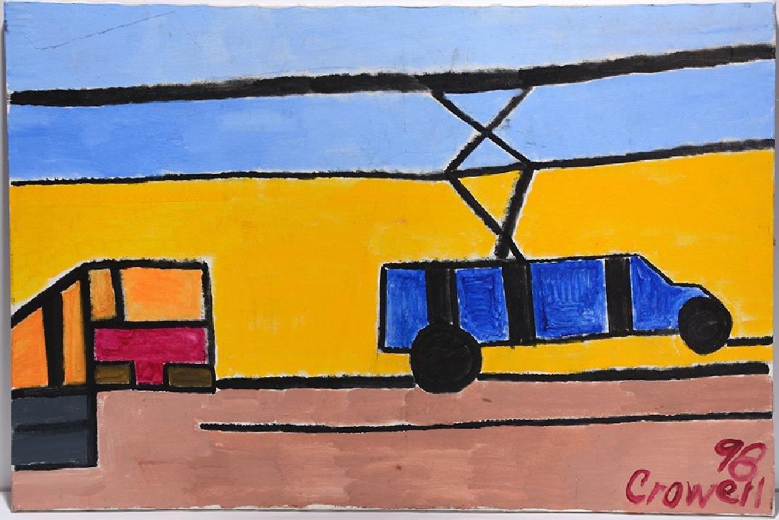 Harold Crowell. Blue Truck.