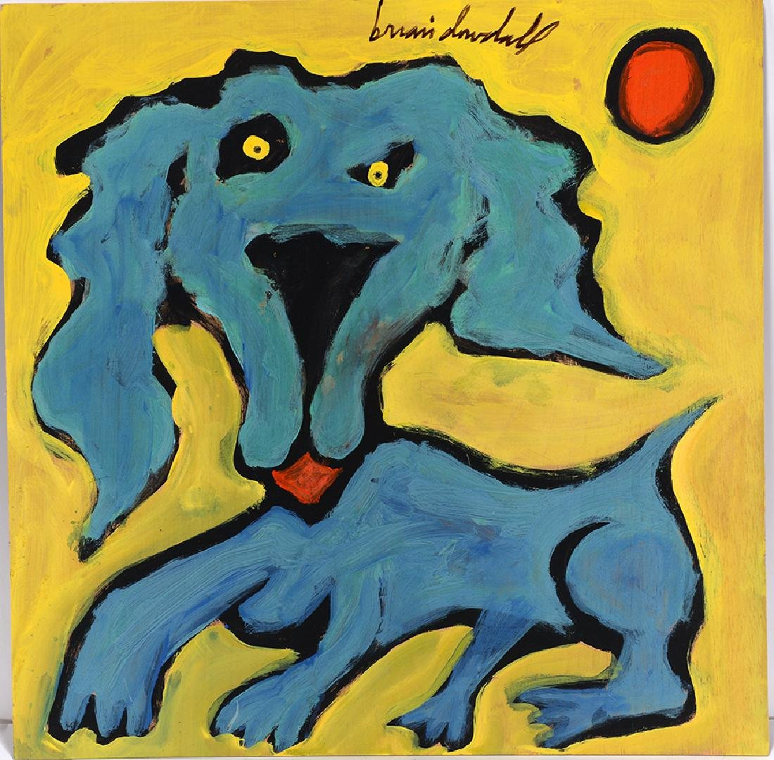 Brian Dowdall. Blue Dog.