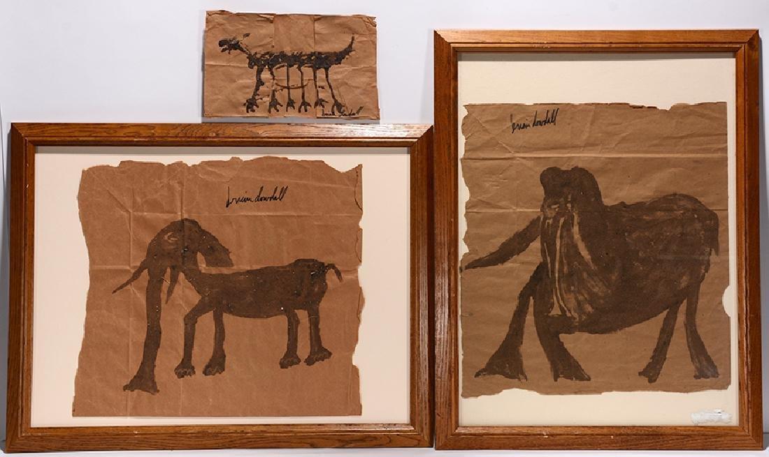 Brian Dowdall. 3 Prehistoric Animals.