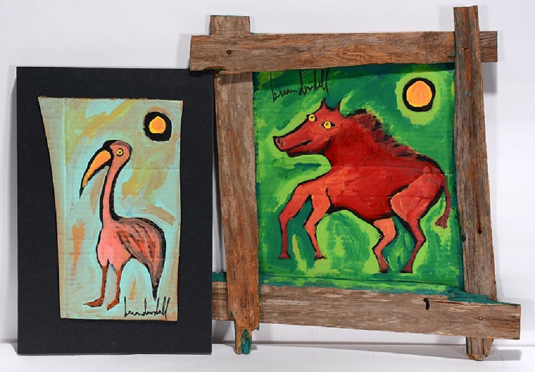 Brian Dowdall. Hog & Flamingo.
