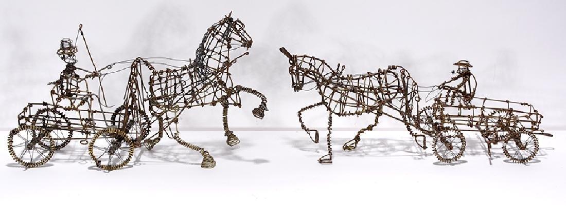 Vanoy Streeter. Horse & Buggys Meet.