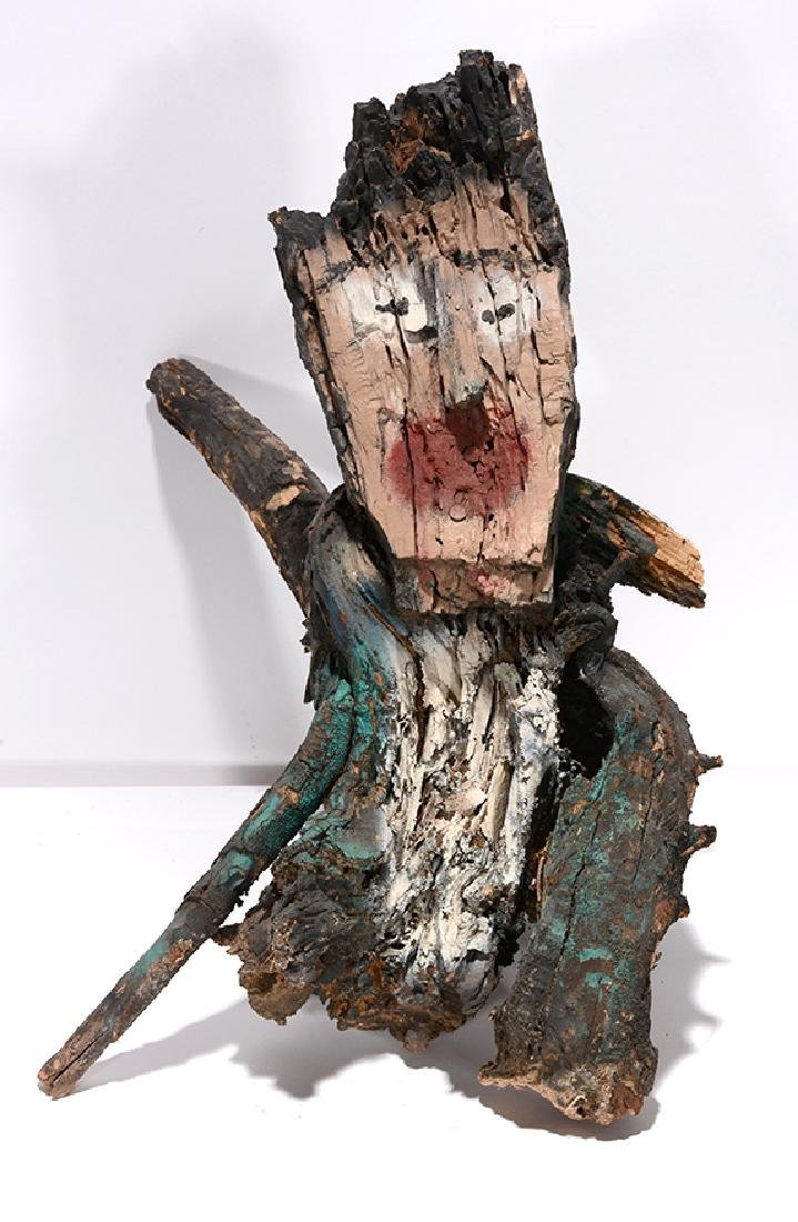 Ralph Griffin. Stump Man.