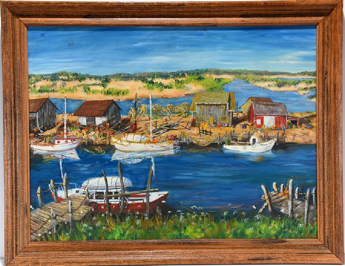 Gerald Ness. Harbor Lake.