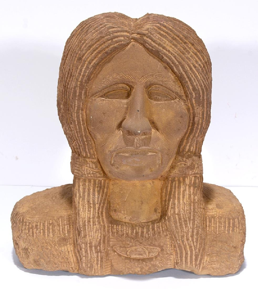 C. Cook. Indian Bust.