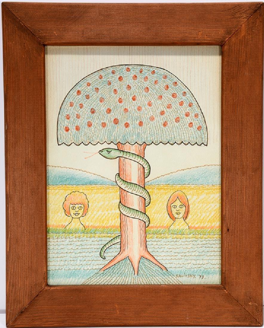 Jack Savitsky. Adam & Eve.