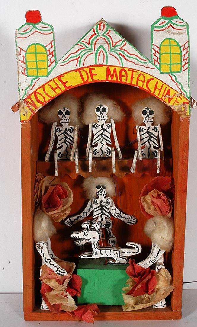 Day Of The Dead Crank Toy.